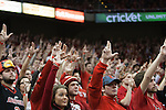 Louisville student section  during the game against  the Kentucky Wildcats at KFC Yum! Center on Saturday, December 27, 2014 in Louisville `, Ky. Kentucky defeated Louisville 58-50. Photo by Michael Reaves | Staff