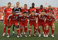 29 July 2009: Toronto FC starting eleven during a CONCACAF game at BMO Field in Toronto between the Puerto Rico Islanders and Toronto FC..The Puerto Rico Islanders won 1-0..