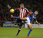 Leon Clarke of Sheffield Utd during the English League One match at Bramall Lane Stadium, Sheffield. Picture date: December 10th, 2016. Pic Simon Bellis/Sportimage