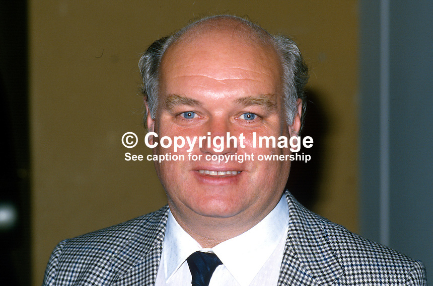 Sean Geraghty, secretary, London Press Branch, EEPTU, trade union, UK, 19870906SG..Copyright Image from Victor Patterson, 54 Dorchester Park, Belfast, UK, BT9 6RJ..Tel: +44 28 9066 1296.Mob: +44 7802 353836.Voicemail +44 20 8816 7153.Skype: victorpattersonbelfast.Email: victorpatterson@me.com.Email: victorpatterson@ireland.com (back-up)..IMPORTANT: If you wish to use this image or any other of my images please go to www.victorpatterson.com and click on the Terms & Conditions. Then contact me by email or phone with the reference number(s) of the image(s) concerned.