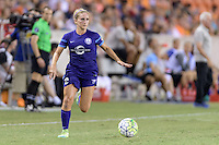 Houston, TX - Saturday Sept. 03, 2016: Camille Levin during a regular season National Women's Soccer League (NWSL) match between the Houston Dash and the Orlando Pride at BBVA Compass Stadium.
