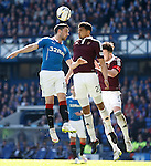 Nicky Clark with Osman Sow and Danny Wilson