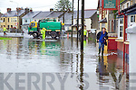 Flooding at Ballymullen, Tralee on Tuesday.