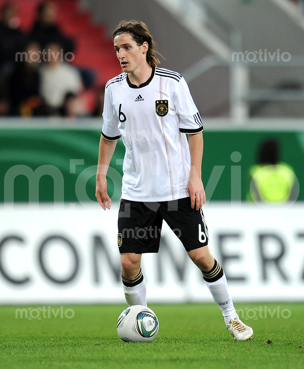 FUSSBALL INTERNATIONAL Laenderspiel U 21   06.10.2011 Deutschland - Bosnien Herzegowina Sebastian Rudy (Deutschland)