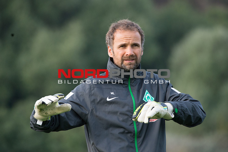 Trainingsgel&auml;nde, Jerez, ESP, 1.FBL, Trainingslager Werder Bremen 2014,  11.01.2014, <br /> <br /> Marco Langner (Torwart-Trainer Werder Bremen)<br /> <br /> Foto &copy; nordphoto/ Kokenge