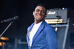 © Joel Goodman - 07973 332324 . 06/06/2015. Manchester , UK . LABRINTH ( Timothy McKenzie ) on the main stage at The Parklife 2015 music festival in Heaton Park , Manchester . Photo credit : Joel Goodman