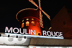The Moulin Rouge. Paris, France. July 26, 2007.