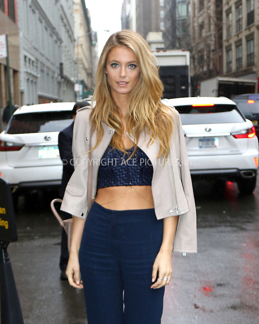 WWW.ACEPIXS.COM<br /> <br /> February 16 2016, New York City<br /> <br /> Model Kate Bock arrives at the Sports Illustrated Swimsuit 2016 - Swim City at the Altman Building on February 15, 2016 in New York City. <br /> <br /> By Line: Zelig Shaul/ACE Pictures<br /> <br /> <br /> ACE Pictures, Inc.<br /> tel: 646 769 0430<br /> Email: info@acepixs.com<br /> www.acepixs.com
