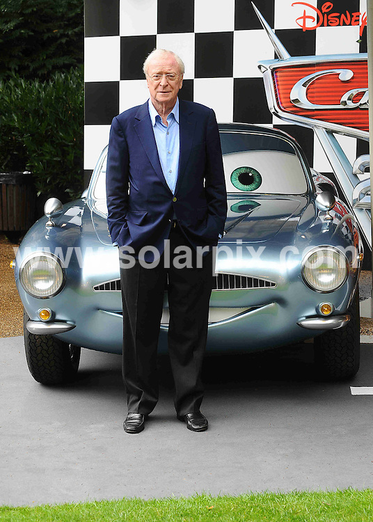 **ALL ROUND PICTURES FROM SOLARPIX.COM**                                             **WORLDWIDE SYNDICATION RIGHTS**                                                                                  Caption: Pre-party celebrating the UK Premiere of CARS 2 at Whitehall Gardens on July 17, 2011 in London                                                                              This pic: Sir Michael Caine                                                                                          JOB REF: 13734 TLP       DATE: 17_07_2011                                                           **MUST CREDIT SOLARPIX.COM OR DOUBLE FEE WILL BE CHARGED**                                                                      **MUST AGREE FEE BEFORE ONLINE USAGE**                               **CALL US ON: +34 952 811 768 or LOW RATE FROM UK 0844 617 7637**