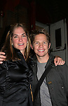 Kassie DePaiva poses with Jack Noseworthy who stars in Under Fire, the musical - a part of the New York Musical Theatre Festival on October 4, 2009 at The Theatre of St. Clements, New York City, New York. (Photo by Sue Coflin/Max Photos)