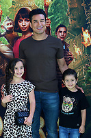 """LOS ANGELES - JUL 28:  Gia Lopez, Mario Lopez, Dominic Lopez at the """"Dora and the Lost City of Gold"""" World Premiere at the Regal LA Live on July 28, 2019 in Los Angeles, CA"""