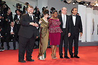 Alexandre Desplat , Richard Jenkins, Octavia Spencer, Sally Hawkins and Guillermo Del Toro at the Shape Of Water premiere, 74th Venice Film Festival in Italy on 31 August 2017.<br /> <br /> Photo: Kristina Afanasyeva/Featureflash/SilverHub<br /> 0208 004 5359<br /> sales@silverhubmedia.com