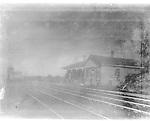 Frederick Stone negative. Naugatuck Junction 1893. Poor quality neg.