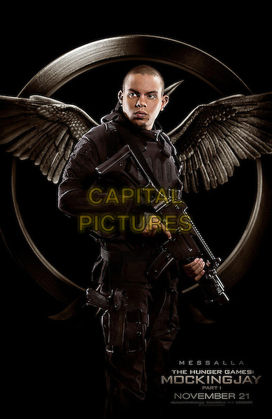 POSTER ART with Evan Ross as Messalla<br /> in The Hunger Games - Mockingjay - Part 1 (2014) <br /> *Filmstill - Editorial Use Only*<br /> CAP/NFS<br /> Image supplied by Capital Pictures