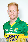 Seamus Scanlon member of the Kerry Senior Football team 2012.