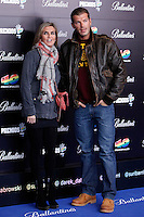 Darek and Susana Uribarri attends 40 Principales awards photocall  2012 at Palacio de los Deportes in Madrid, Spain. January 24, 2013. (ALTERPHOTOS/Caro Marin) /NortePhoto