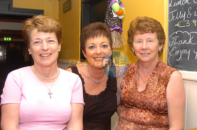 Stephnie Taaffe, Martina Boyce and Angela Saddler in the Bridgeford..Photo Fran Caffrey Newsfile.ie..This Picture has been sent to you by Newsfile Ltd..The Studio,.Millmount Abbey,.Drogheda,.Co. Meath,.Ireland..Tel: +353(0)41-9871240.Fax: +353(0)41-9871260.ISDN: +353(0)41-9871010.www.newsfile.ie..general email: pictures@newsfile.ie