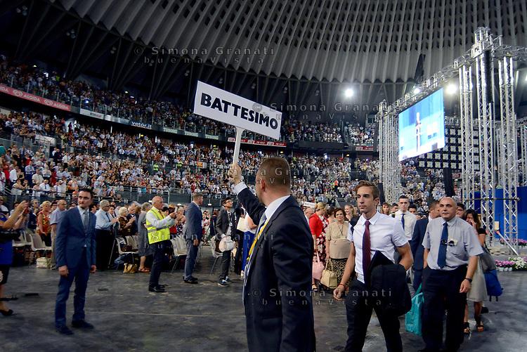 Roma, 15 Luglio 2017<br /> Verso il Battesimo<br /> Congresso dei Testimoni di Geova con Battesimi presso il PalaLottomatica