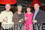 ITALIAN NIGHT: Enjoying the Italian theme night at the Manor West hotel, Tralee on Saturday l-r: Ernie Bolye and Mona Bulter, Tralee and Mary and Ken O'Neill, Milltown.