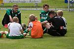 27-07-2017, Voetbalkamp, Norg, Jeugd, Mike te Wierik of FC Groningen,  Tom van de Looi of FC Groningen,