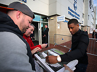 Pictured: Luciano Narsingh Wednesday 18 May 2017<br />Re: Swansea City FC, Player of the Year Awards at the Liberty Stadium, Wales, UK.