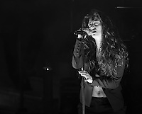 LAS VEGAS, NV - April 15 : LORDE performs at The Boulevard Pool at The Cosmopolitan of Las Vegas in Las Vegas, NV on April 15, 2014. © Kabik/ Starlitepics ***HOUSE COVERAGE***