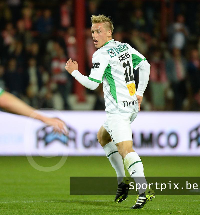 Cercle Brugge KSV  : Alessio Staelens<br /> foto VDB / BART VANDENBROUCKE