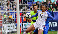 Harrison, N.J. - Sunday March 04, 2018: Lynn Williams during a 2018 SheBelieves Cup match between the women's national teams of the United States (USA) and France (FRA) at Red Bull Arena.