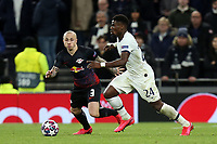 Angelino of RB Leipzig  and Serge Aurier of Tottenham Hotspur during Tottenham Hotspur vs RB Leipzig, UEFA Champions League Football at Tottenham Hotspur Stadium on 19th February 2020