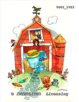 GIORDANO, CHILDREN BOOKS, BIRTHDAY, GEBURTSTAG, CUMPLEAÑOS, humor, paintings+++++,USGI1023,#BI#,#H# ,everyday ,everyday