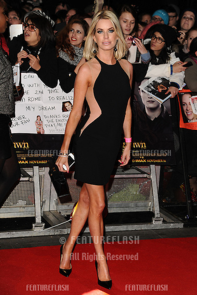 "Caroline Stanbury arriving for the ""The Twilight Saga: Breaking Dawn Part 2"" premiere at the Odeon Leicester Square, London. 14/11/2012 Picture by: Steve Vas / Featureflash"