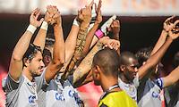 SAO PAULO, SP, 03 MARÇO 2013 - CAMP. PAULISTA - SANTOS X CORINTHIANS - Alexandre Pato do Corinthians em partida contra o Santos válida pelo Campeonato Paulista 2013 no Estádio do Morumbi em São Paulo (SP), neste domingo (03). (FOTO: WILLIAM VOLCOV / BRAZIL PHOTO PRESS).