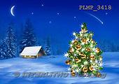 Marek, CHRISTMAS LANDSCAPES, WEIHNACHTEN WINTERLANDSCHAFTEN, NAVIDAD PAISAJES DE INVIERNO, photos+++++,PLMP3418,#xl#