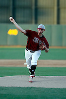 Jake Barrett pitching for the Desert Ridge Jaguars (Mesa, AZ) against the  Horizon Huskies (Scottsdale, AZ) in the state 5A-II championship game at Phoenix Municipal Stadium, 5/16/2009. Desert Ridge won the championship game, 9-8, but Barrett did not get the decision..Photo by:  Bill Mitchell/Four Seam Images