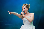 Clare Grogan and Altered Images perform at the Scottish Rewind Festival at Scone Palace, Perth on Sunday, July 22, 2012.  ..Picture: Malcolm McCurrach - New Wave Images - 22/07/2012