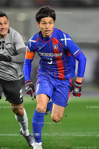 Masato Morishige (FC Tokyo), FEBRUARY 9, 2016 - Football / Soccer : AFC Champions League 2016 Play-off match between FC Tokyo 9-0 Chonburi FC at Tokyo Stadium in Tokyo, Japan. (Photo by AFLO)