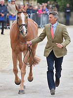 Winner Andrew Nicholson (NZL) riding NEREO   during the final Inspection this morning at the Mitsubishi Motors Badminton Horse Trials 2017 Badminton Glos. UK on 6th May 2017.