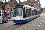 Tram, Amsterdam, Netherlands