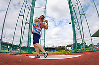 World Champion Hammer thrower Pawel FAJDEK of Poland during the Muller Grand Prix Birmingham Athletics at Alexandra Stadium, Birmingham, England on 20 August 2017. Photo by Andy Rowland.