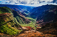 Waimea Canyon State Park in Kauai, Hawaii