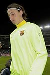 MADRID, Spain (14/02/10).-Liga BBVA de futbol. Partido Atletico de Madrid-FC Barcelona..Zlatan Ibrahimovic..©Raul Perez ..