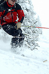 Powder Skiing - Targhee Snowcat