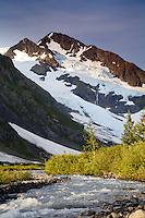 Byron Glacier, Portage Valley, Chugach National Forest, Alaska.