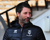Lincoln City manager Danny Cowley during the pre-match warm-up<br /> <br /> Photographer Andrew Vaughan/CameraSport<br /> <br /> The EFL Sky Bet League Two - Port Vale v Lincoln City - Saturday 13th October 2018 - Vale Park - Burslem<br /> <br /> World Copyright © 2018 CameraSport. All rights reserved. 43 Linden Ave. Countesthorpe. Leicester. England. LE8 5PG - Tel: +44 (0) 116 277 4147 - admin@camerasport.com - www.camerasport.com