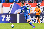 Giovanni Moreno of Shanghai Shenhua FC in action during their AFC Champions League 2017 Playoff Stage match between Shanghai Shenhua FC (CHN) and Brisbane Roar (AUS) at the Hongkou Stadium, on 08 February 2017 in Shanghai, China. Photo by Marcio Rodrigo Machado / Power Sport Images
