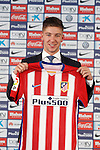 20150709. Atletico de Madrid's new player Luciano Vietto.
