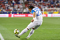 Harrison, NJ - Friday July 07, 2017: Carlos Sánchez during a 2017 CONCACAF Gold Cup Group A match between the men's national teams of Honduras (HON) vs Costa Rica (CRC) at Red Bull Arena.