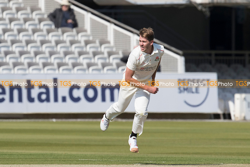 Tom Bailey of Lancashire CCC in action during Middlesex CCC vs Lancashire CCC, Specsavers County Championship Division 2 Cricket at Lord's Cricket Ground on 11th April 2019