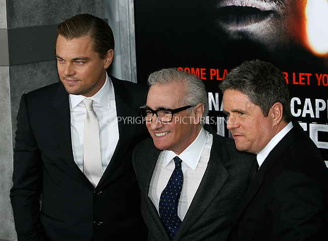 WWW.ACEPIXS.COM . . . . .  ....February 17 2010, New York City....Actor Leonardo DiCaprio, Director Martin Scorsese and CEO of Paramount Pictures Brad Grey arriving at the premiere of 'Shutter Island'  at the Ziegfeld Theatre on February 17, 2010 in New York City.....Please byline: NANCY RIVERA- ACEPIXS.COM.... *** ***..Ace Pictures, Inc:  ..Tel: 646 769 0430..e-mail: info@acepixs.com..web: http://www.acepixs.com