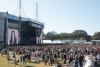 SAN FRANCISCO, CALIFORNIA - AUGUST 11: Atmosphere / Crowd during the 2019 Outside Lands Music And Arts Festival at Golden Gate Park on August 11, 2019 in San Francisco, California. Photo: imageSPACE/MediaPunch